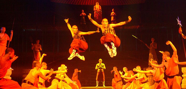 red theatre kungfu